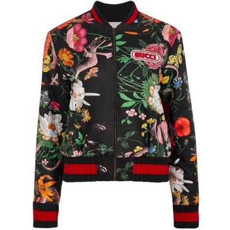 Gucci Bomber Ceket Snake Floral #Gucci #Bomber Ceket #GucciBomber Ceket #Kadın #GucciSnake #Snake
