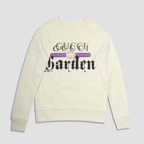 Gucci Sweatshirt Garden Beyaz #Gucci #Sweatshirt #GucciSweatshirt #Kadın #GucciGarden #Garden