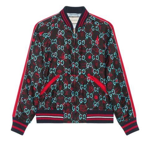 Gucci Bomber Ceket Ghost Siyah #Gucci #Bomber Ceket #GucciBomber Ceket #Erkek #GucciGhost #Ghost