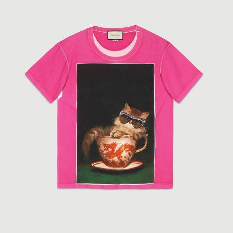 Gucci Tişört Ignasi Monreal Fuşya #Gucci #Tişört #GucciTişört #Kadın #GucciIgnasi Monreal #Ignasi Monreal