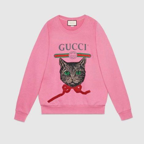 Gucci Sweatshirt Mystic Pembe #Gucci #Sweatshirt #GucciSweatshirt #Kadın #GucciMystic #Mystic