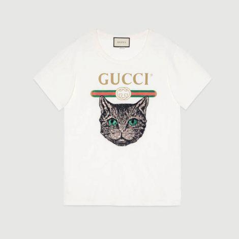Gucci Tişört Mystic Beyaz #Gucci #Tişört #GucciTişört #Kadın #GucciMystic #Mystic
