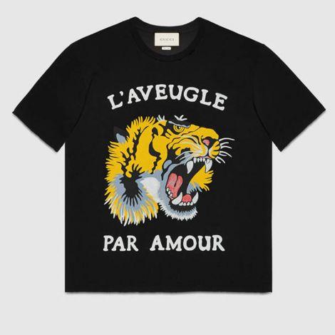 Gucci Tişört Tiger Siyah #Gucci #Tişört #GucciTişört #Kadın #GucciTiger #Tiger