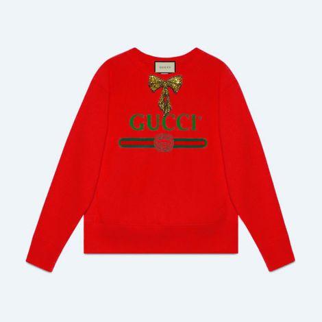 Gucci Sweatshirt Logo Kırmızı #Gucci #Sweatshirt #GucciSweatshirt #Kadın #GucciLogo #Logo