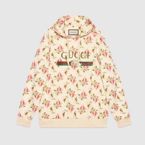 Gucci Sweatshirt Rose Beyaz #Gucci #Sweatshirt #GucciSweatshirt #Kadın #GucciRose #Rose