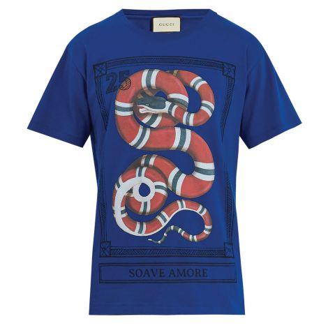 Gucci Tişört Jersey Mavi #Gucci #Tişört #GucciTişört #Erkek #GucciJersey #Jersey