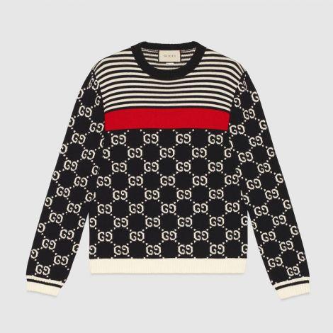 Gucci Sweatshirt GG Siyah #Gucci #Sweatshirt #GucciSweatshirt #Erkek #GucciGG #GG