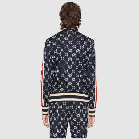 Gucci Eşofman Üst Jacquard Lacivert #Gucci #Eşofman Üst #GucciEşofman Üst #Erkek #GucciJacquard #Jacquard