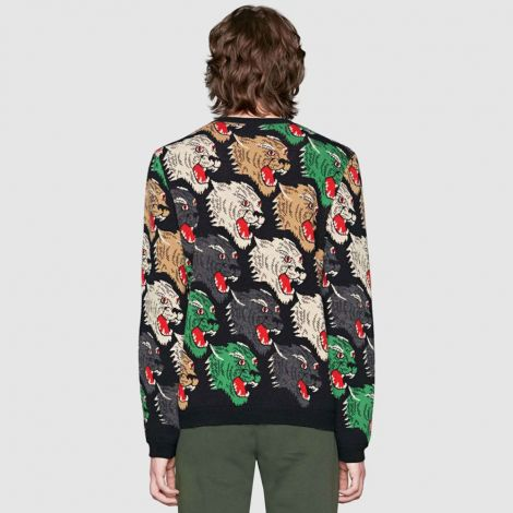 Gucci Sweatshirt Panther Siyah #Gucci #Sweatshirt #GucciSweatshirt #Erkek #GucciPanther #Panther