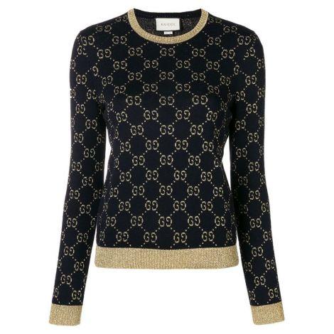 Gucci Sweatshirt GG Supreme Siyah #Gucci #Sweatshirt #GucciSweatshirt #Kadın #GucciGG Supreme #GG Supreme