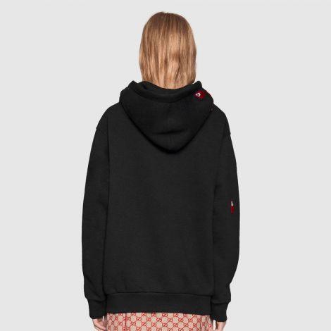 Gucci Sweatshirt Spiritismo Siyah #Gucci #Sweatshirt #GucciSweatshirt #Kadın #GucciSpiritismo #Spiritismo