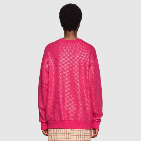 Gucci Sweatshirt Guccy Pembe #Gucci #Sweatshirt #GucciSweatshirt #Kadın #GucciGuccy #Guccy