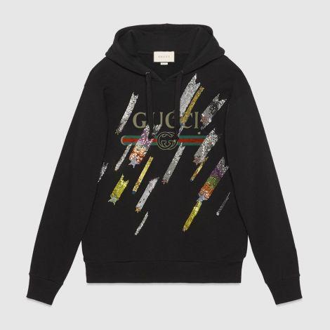 Gucci Sweatshirt Stars Siyah #Gucci #Sweatshirt #GucciSweatshirt #Kadın #GucciStars #Stars