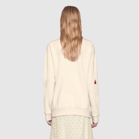 Gucci Sweatshirt Spiritismo Beyaz #Gucci #Sweatshirt #GucciSweatshirt #Kadın #GucciSpiritismo #Spiritismo
