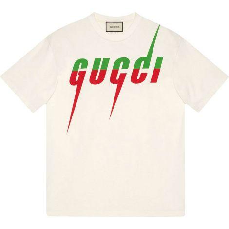 Gucci Tişört Blade Beyaz #Gucci #Tişört #GucciTişört #Erkek #GucciBlade #Blade