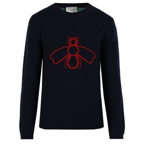 Gucci Sweatshirt Intarsia Siyah #Gucci #Sweatshirt #GucciSweatshirt #Erkek #GucciIntarsia #Intarsia