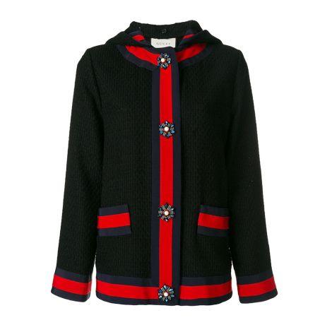 Gucci Hırka Cardigan Siyah #Gucci #Hırka #GucciHırka #Kadın #GucciCardigan #Cardigan