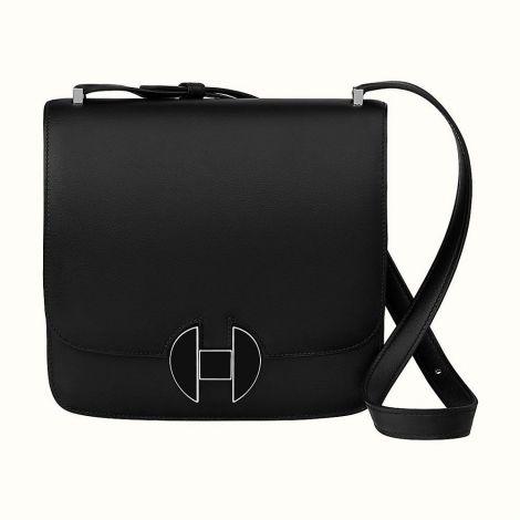 Hermes Çanta 2002 Siyah - Hermes Canta Paris Hermes 2002 20 Bag Noir Lacivert