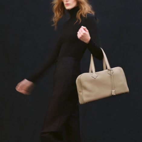 Hermes Çanta Victoria Sarı - Hermes Canta Paris Victoria Ii Fourre Tout 35 Bag Lime Sari