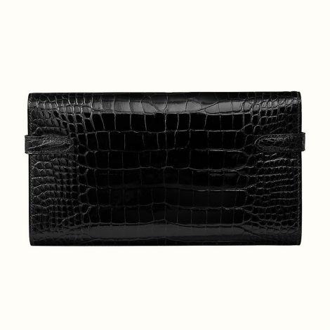 Hermes Cüzdan Kelly Siyah - Hermes Cuzdan Kelly Classic Wallet Noir Siyah