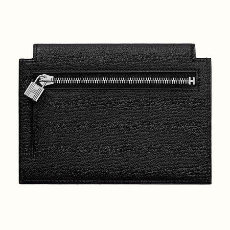 Hermes Cüzdan Kelly Siyah - Hermes Cuzdan Kelly Pocket Compact Wallet Noir Siyah