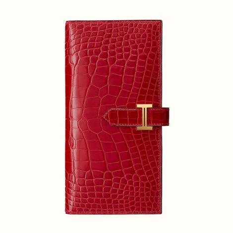 Hermes Cüzdan Bearn Kırmızı - Hermes Cuzdan Paris Bearn Wallet Braise Kirmizi