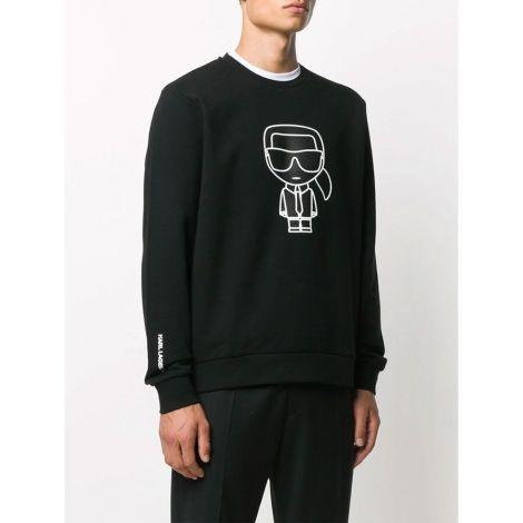 Karl Lagerfeld Sweatshirt Motif Siyah - Sweatshirt Erkek 21 Karl Lagerfeld Karl Motif Siyah