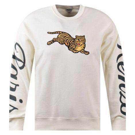 Kenzo Sweatshirt Tiger Beyaz #Kenzo #Sweatshirt #KenzoSweatshirt #Erkek #KenzoTiger #Tiger