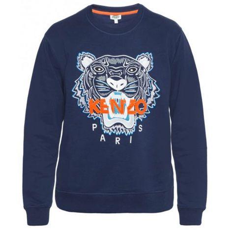 Kenzo Sweatshirt Tiger Mavi #Kenzo #Sweatshirt #KenzoSweatshirt #Erkek #KenzoTiger #Tiger