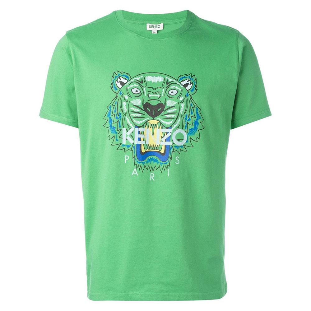Kenzo Tiger Tişört Yeşil - 5 #Kenzo #KenzoTiger #Tişört