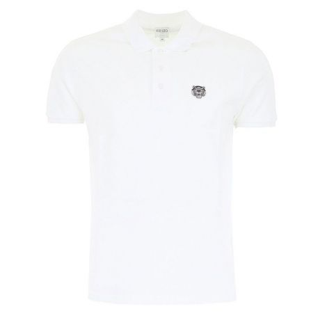 Kenzo Tişört Polo Beyaz #Kenzo #Tişört #KenzoTişört #Erkek #KenzoPolo #Polo