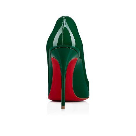 Christian Louboutin Ayakkabı Pigalle Yeşil - Christian Louboutin Klasik Pigalle Follies Topuklu Yesil