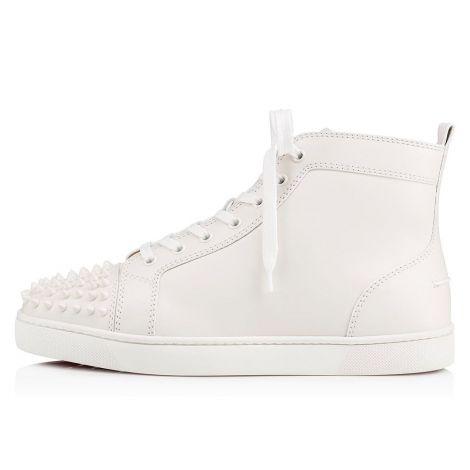 Christian Louboutin Ayakkabı Spikes Beyaz #ChristianLouboutin #Ayakkabı #ChristianLouboutinAyakkabı #Erkek #ChristianLouboutinSpikes #Spikes