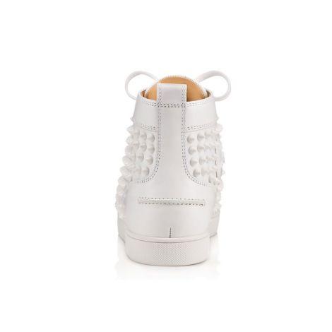 Christian Louboutin Ayakkabı Spikes Beyaz #ChristianLouboutin #Ayakkabı #ChristianLouboutinAyakkabı #Kadın #ChristianLouboutinSpikes #Spikes