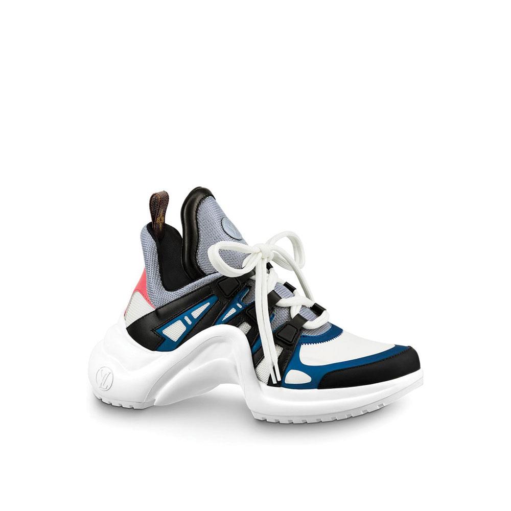 Louis Vuitton Archlight Ayakkabı Beyaz - 2 #Louis Vuitton #LouisVuittonArchlight #Ayakkabı