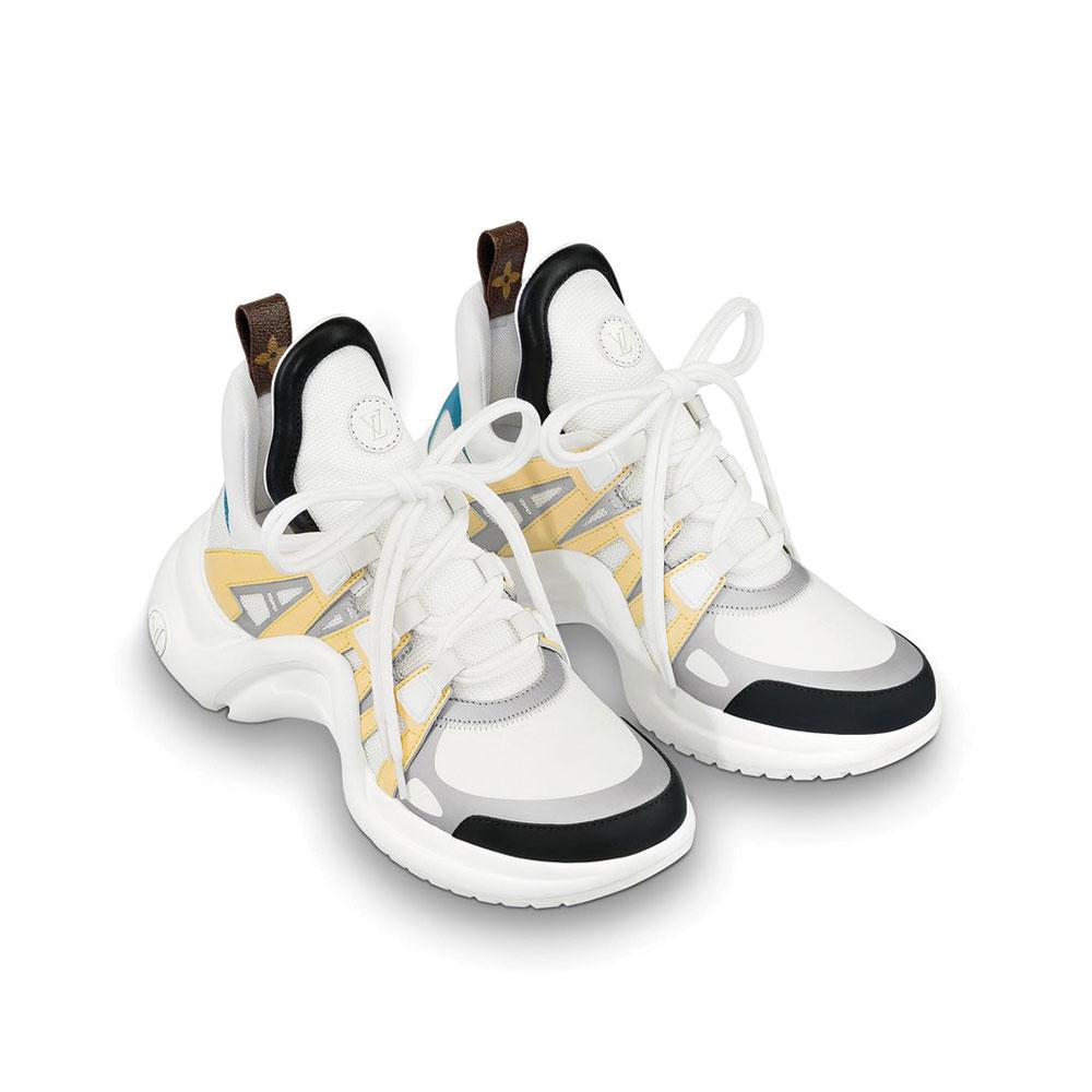 Louis Vuitton Archlight Ayakkabı Beyaz - 1 #Louis Vuitton #LouisVuittonArchlight #Ayakkabı - 2