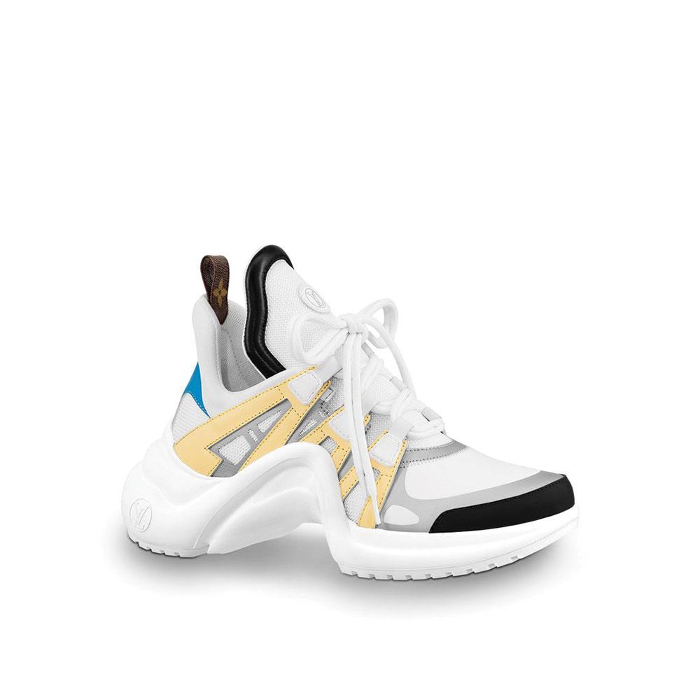 Louis Vuitton Archlight Ayakkabı Beyaz - 1 #Louis Vuitton #LouisVuittonArchlight #Ayakkabı