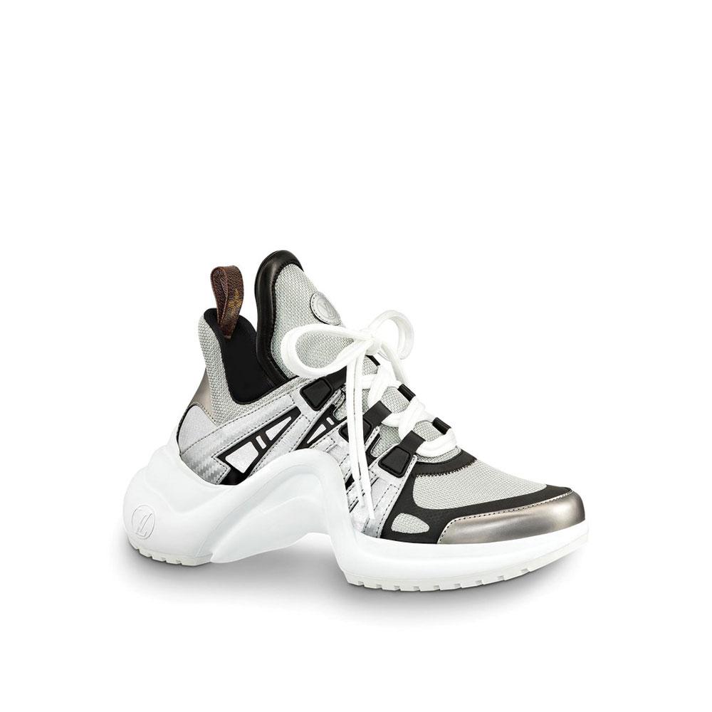 Louis Vuitton Archlight Ayakkabı Beyaz - 5 #Louis Vuitton #LouisVuittonArchlight #Ayakkabı