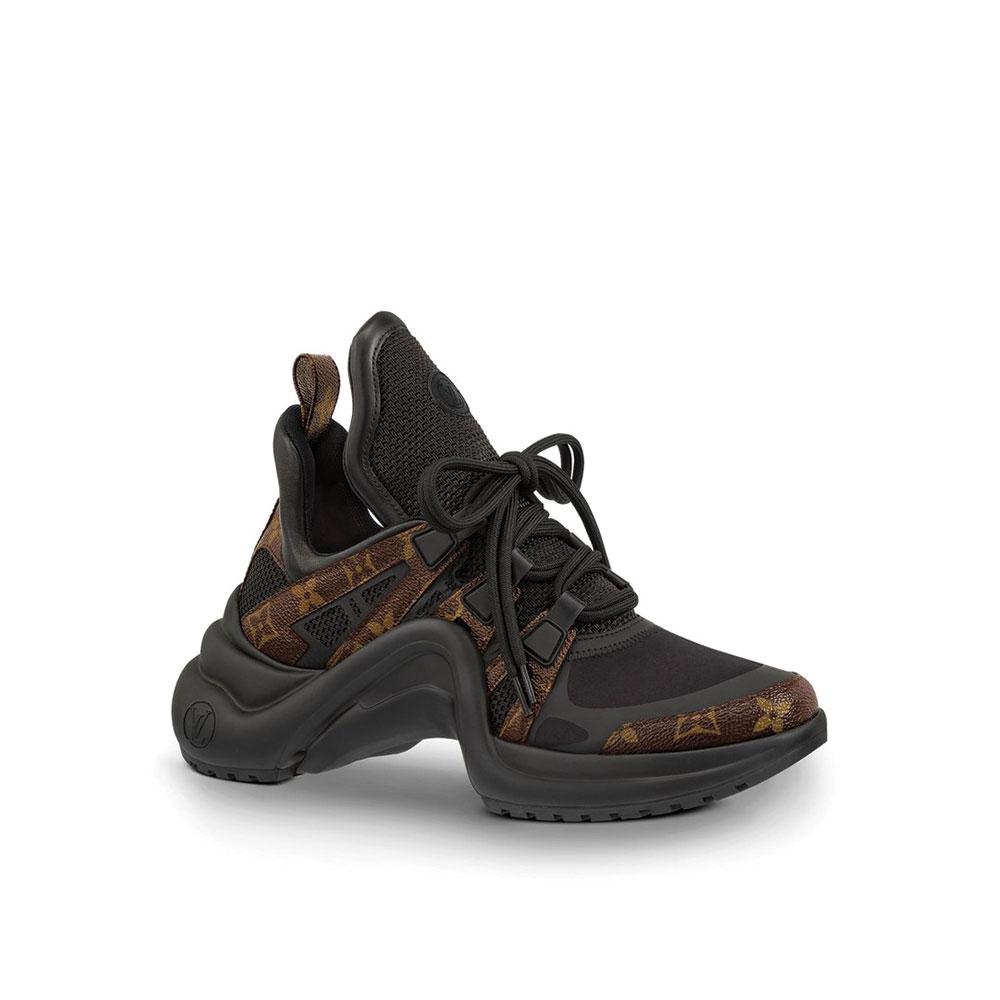 Louis Vuitton Archlight Ayakkabı Siyah - 6 #Louis Vuitton #LouisVuittonArchlight #Ayakkabı