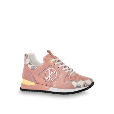 Louis Vuitton Ayakkabı Run Away Pembe - Louis Vuitton Ayakkabi Kadin 1a43h3 Run Away Sneaker Pembe Yeni