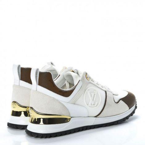 Louis Vuitton Ayakkabı Run Away Beyaz - Louis Vuitton Ayakkabi Kadin Run Away Sneaker 1a3cwn Beyaz Kahve