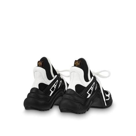 Louis Vuitton Ayakkabı Archlight Siyah - Louis Vuitton Ayakkabi Lv Archlight Sneaker Kadin 1a43k5 Beyaz Siyah