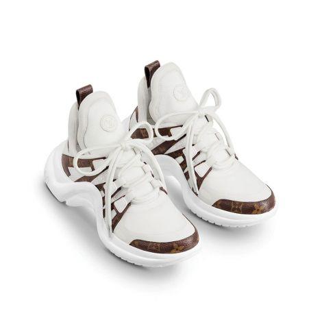 Louis Vuitton Ayakkabı Archlight Beyaz #LouisVuitton #Ayakkabı #LouisVuittonAyakkabı #Kadın #LouisVuittonArchlight #Archlight