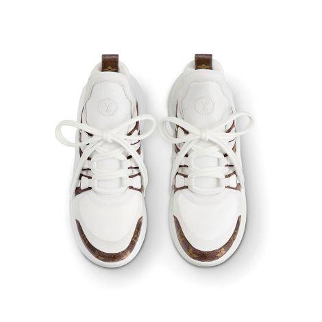 Louis Vuitton Ayakkabı Archlight Beyaz - Louis Vuitton Ayakkabi Lv Archlight Sneaker Kadin 1a43l1 Kahverengi Beyaz