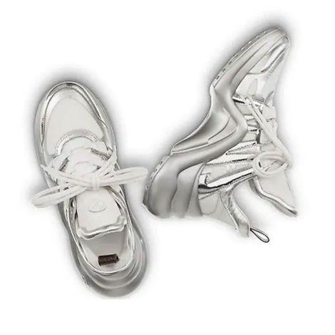 Louis Vuitton Ayakkabı Archlight Gri - Louis Vuitton Lv Archlight Sneaker Ayakkabi Kadin Gri