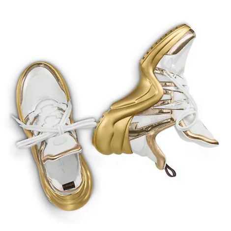 Louis Vuitton Ayakkabı Archlight Sarı - Louis Vuitton Lv Archlight Sneaker Ayakkabi Kadin Sari