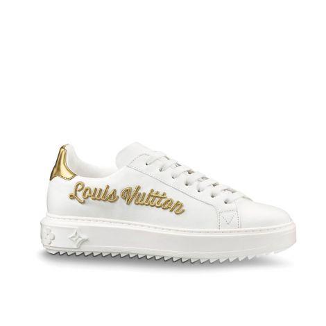 Louis Vuitton Ayakkabı Time Out Beyaz - Louis Vuitton Sneaker Bayan 1a3u3c Time Out Ayakkabi 1a3u3c Beyaz