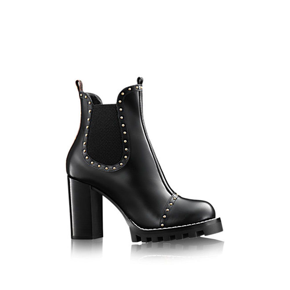 Louis Vuitton Rockabily Ayakkabı Siyah - 51 #Louis Vuitton #LouisVuittonRockabily #Ayakkabı