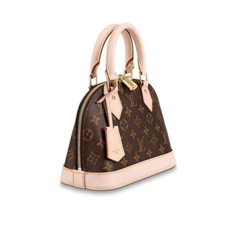Louis Vuitton Çanta Alma Kahverengi - Louis Vuitton Canta 19 Alma Bb Monogram Kahverengi