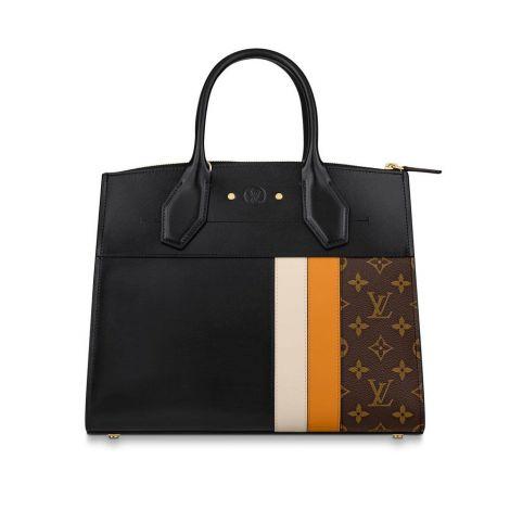 Louis Vuitton Çanta City Siyah - Louis Vuitton Canta 19 City Steamer Mm Siyah